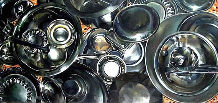 Vessels 2 by Rumka Jana
