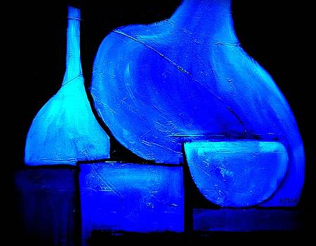 Vessels Blue by VIVA Anderson