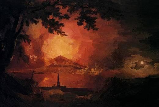 Wright Joseph - Vesuvius In Eruption