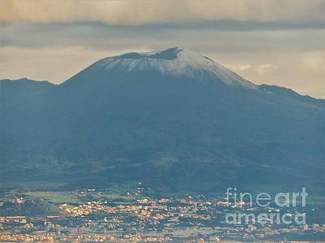 Vesuvius in Winter by Laurie Morgan