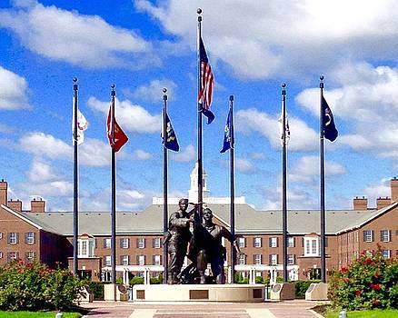 Veterans Memorial by Russell Keating