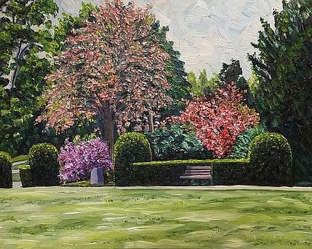 Veterans Park Spring by Richard Nowak
