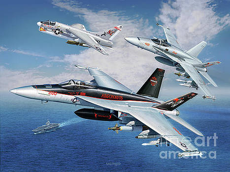 VFA-147 Argonauts Legacy by Stu Shepherd