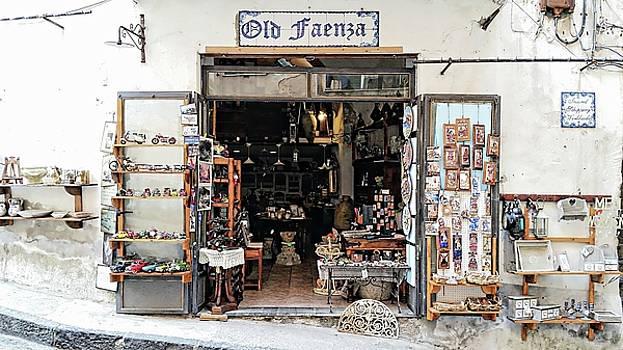 Via Pietro Capuano Shopping - Amalfi, Italy by Joseph Hendrix