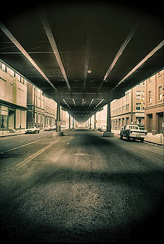 Viaduct in Old Denver by John Brink