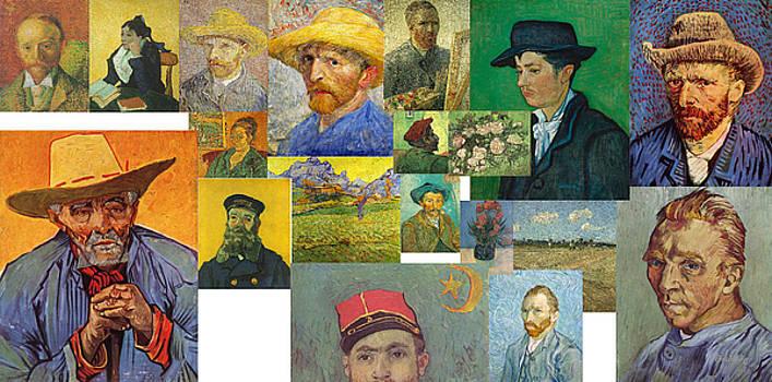 Vibrance of van Gogh Mural IIl by David Bridburg