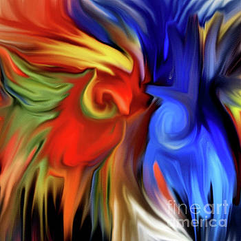 Vibrant Abstract Color Strokes by Smilin Eyes  Treasures