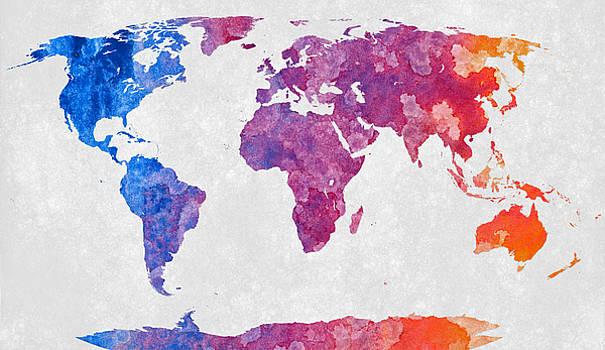 Vibrant Acrylic World by Nicolas Raymond