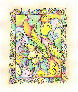 Vibrant Bird by Adrienne Allen