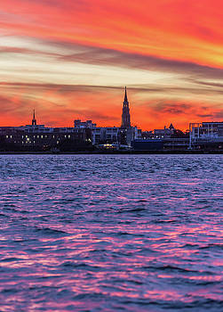 Vibrant Charleston  by Donnie Whitaker