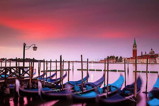 Vibrant Dawn over Venice by Andrew Soundarajan