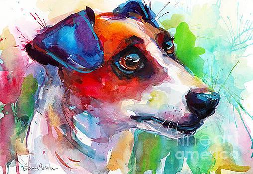 Svetlana Novikova - Vibrant Jack Russell Terrier dog