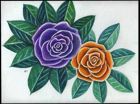 Vibrant Roses by Alycia Ryan