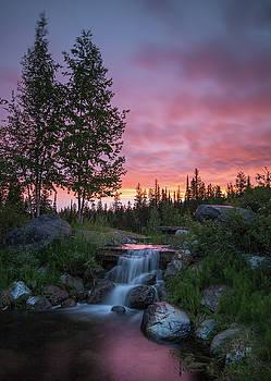 Vibrant Sky // Whitefish, Montana  by Nicholas Parker