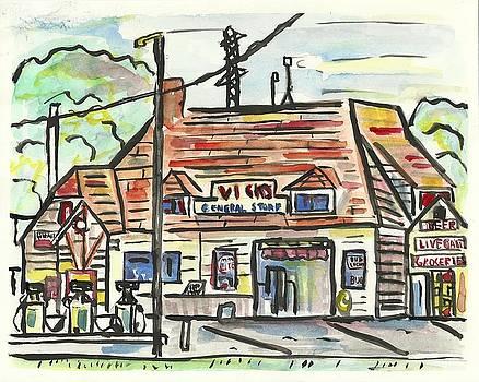 Vick's Corner by Matt Gaudian