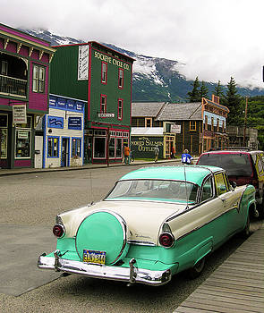 Vicky in Skagway by Jim Mathis