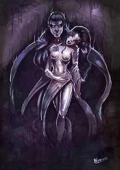 Victim of vampire by Bartek Blaszczec