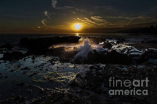 Victoria Beach Sunset by Gregory Schaffer