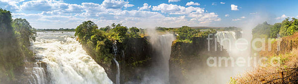 Tim Hester - Victoria Falls Africa Panorama