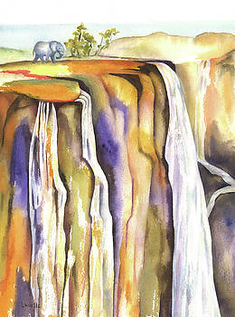 Victoria Falls by Kimberly Lavelle