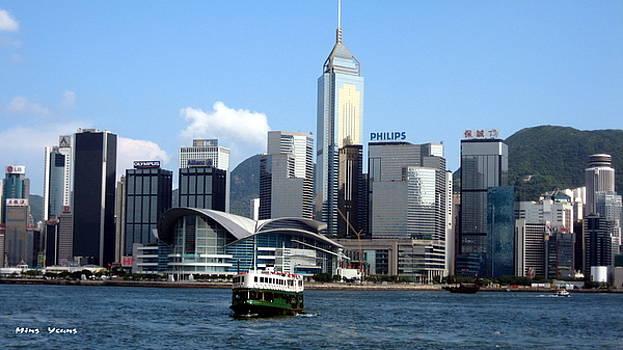 Ming Yeung - Victoria harbour Hong Kong
