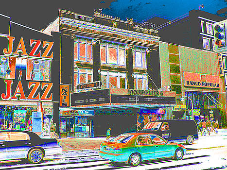 Victoria Theater 125th St NYC by Steven Huszar