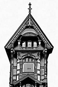Victorian Architecture Details Turret  by Edward Fielding