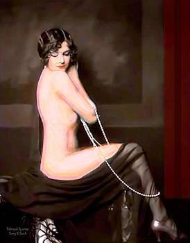 Larry Lamb - Victorian colorized beauty
