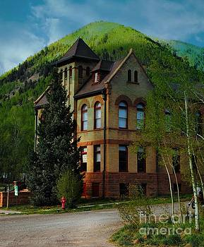 Victorian Court House Rico Colorado by Annie Gibbons