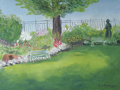 Victorian Garden by Robert P Hedden