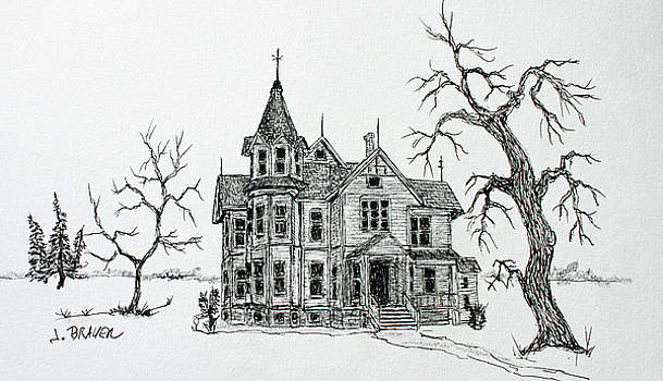 Victorian House by Jack G Brauer