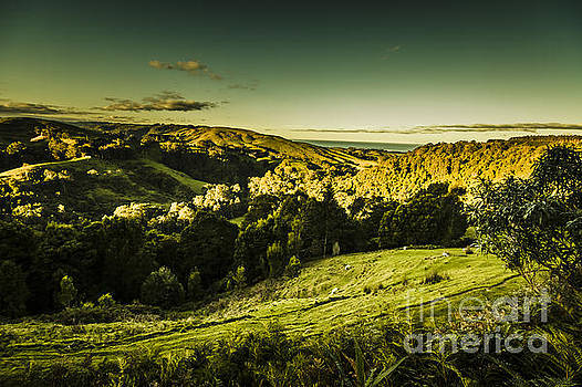 Victorian mountains landscape by Jorgo Photography - Wall Art Gallery