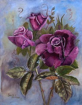Victorian Roses by Jan Holman