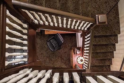 Victorian Stairway by Glenn DiPaola