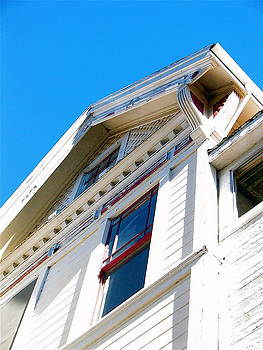 Victorian Window Mare Island by K Hoover
