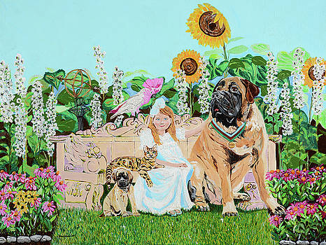 Victoria's Garden Pals by Pamela Trueblood