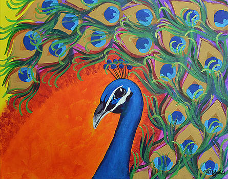 Victoria's Peacock by Tracy Settles