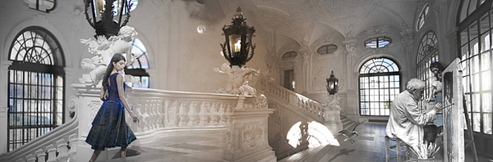 VIENNA ,  Artist and Muse by Loren Salazar