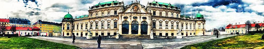 Justyna Jaszke JBJart - Vienna Belvedere watercolor
