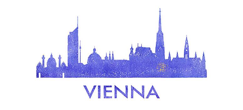 Vyacheslav Isaev - Vienna city purple skyline
