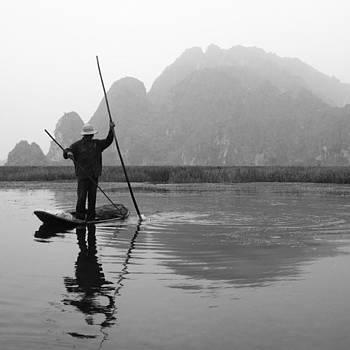 Vietnam Fishing #vietnam by Paul Dal Sasso