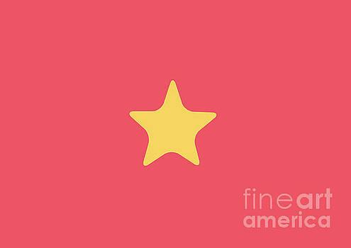 Vietnam Flag by Sonya Staneva