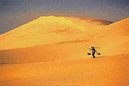 Vietnam Sand Dune by Dennis Cox Photo Explorer