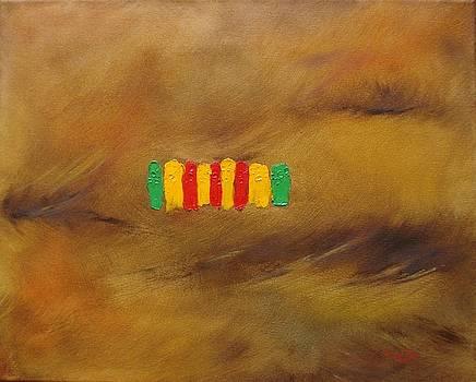 Vietnam Service Ribbon by Judith Rhue