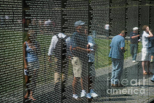 Julian Starks - Vietnam Veterans Memorial Wall