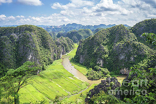 Vietnamese panorama by Delphimages Photo Creations