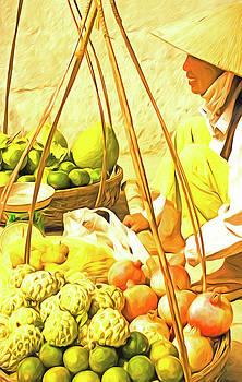Vietnamese Street Vendor by Dennis Cox Photo Explorer