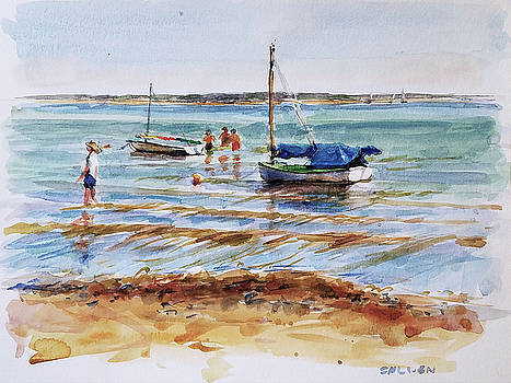 View Across Provincetown Harbor by Peter Salwen
