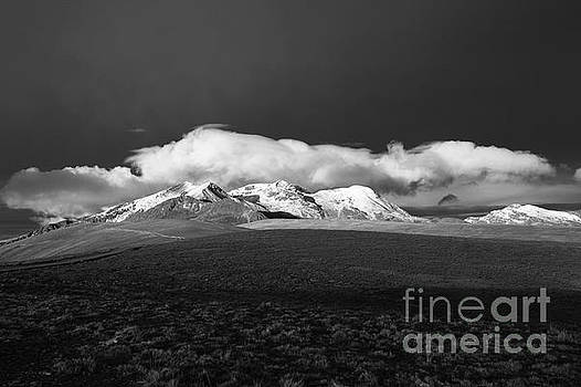 James Brunker - View Across the Altiplano to Mt Chacaltaya
