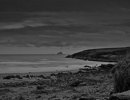 Leif Sohlman - View at Skaleg island BW #f2